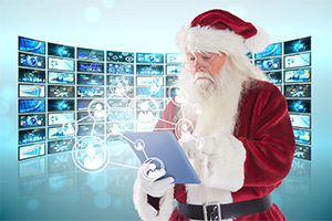 Santa also makes a lot of data driven decisions every year.